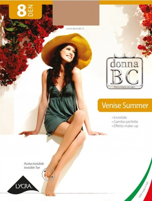 Collant velatissimi invisibili donna BC venise summer 8