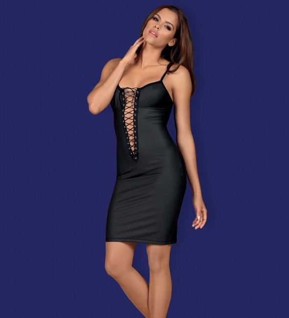Obsessive redella dress nero fronte