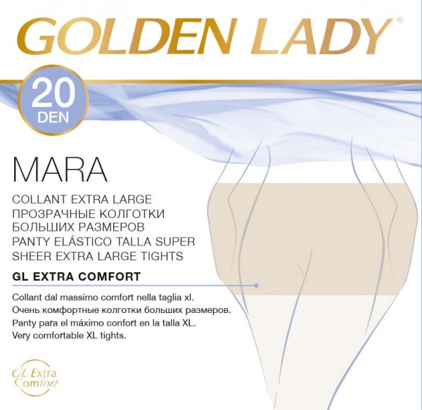 Collant XL conformati Golden Lady Mara 20 den pack