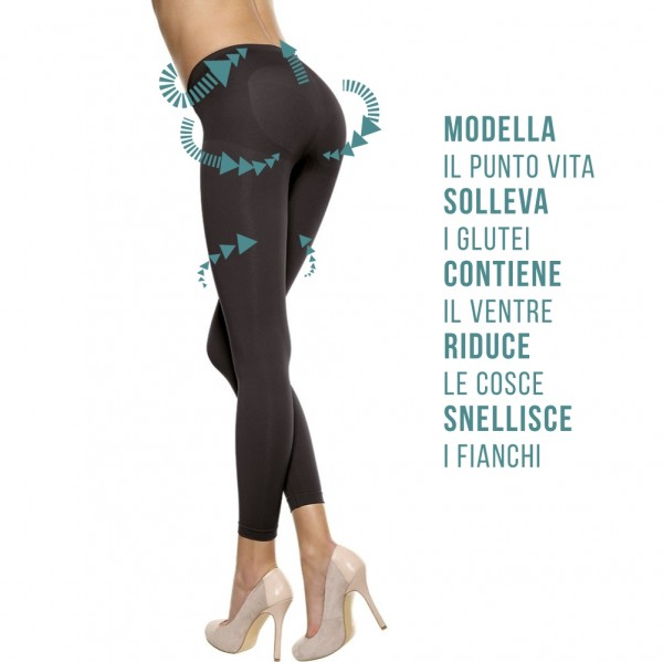 Leggings push up modellante Controlbody 610088 contenitivo
