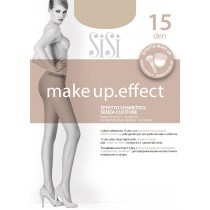 Collant Sisi Make Up Effect 15 den senza cuciture