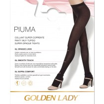 0 Collant Golden lady Piuma supercoprente caldo morbido