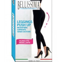 0 Leggings modellanti push up alza glutei microfibra Bellissima