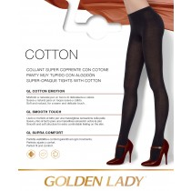 0 Collant Golden Lady Warmy Cotton caldo cotone coprente