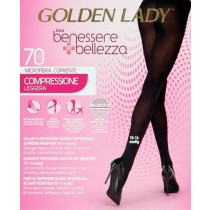 Collant riposante Golden lady benessere bellezza 70 den microfibra