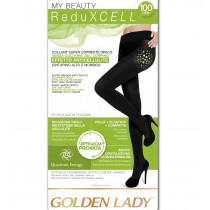 Collant anticellulite senza cuciture Golden lady in microfibra