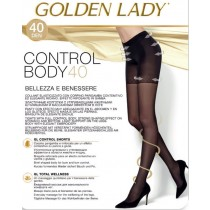 Collant Golden Lady control body 40 den contenitivo modellante riposante