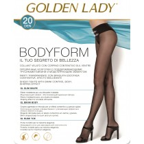 Collant bodyform Golden lady contenitivo sul ventre pack