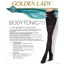 Collant push up Golden lady Bodytonic 70 modellante alza glutei pack