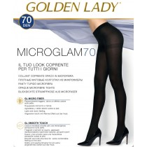 Collant microfibra opaco 70 den Golden Lady Microglam pack