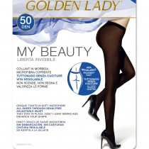 Collant senza cuciture Golden Lady My Beauty microfibra pack