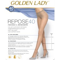 Collant riposante Golden Lady repose 40 den elasticizzato pack