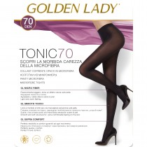 Collant Golden lady Tonic 70 microfibra pack