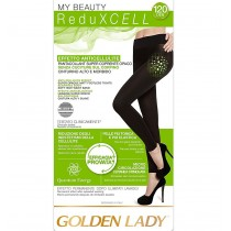 Leggings anticellulite senza cuciture Golden lady in microfibra