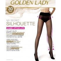 Collant contenitivo velato Golden lady my secret silhouette 30 den