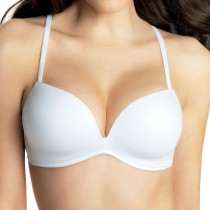 Reggiseno super push up Lormar Free double senza ferretto