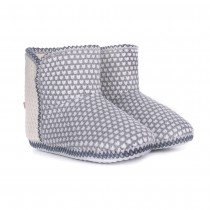 Pantofole da donna stivaletto Milk and honey sh0160 grigio