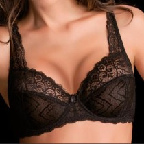 Reggiseno con ferretto Love and bra Sophie coppa C pizzo