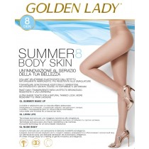 Collant Golden lady summer 8 body skin