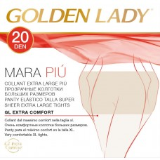 Collant calibrato XXL golden lady mara più 7 paia