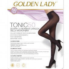 Collant microfibra nero Golden lady Tonic 50 den