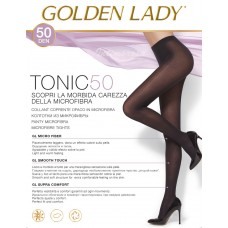 Collant donna microfibra Golden lady Tonic 50 den 5 paia