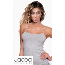 Top donna Jadea 4179 canotta spalla stretta cotone