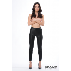 Leggings donna Kissimo Biancaluna KK412 eco pelle