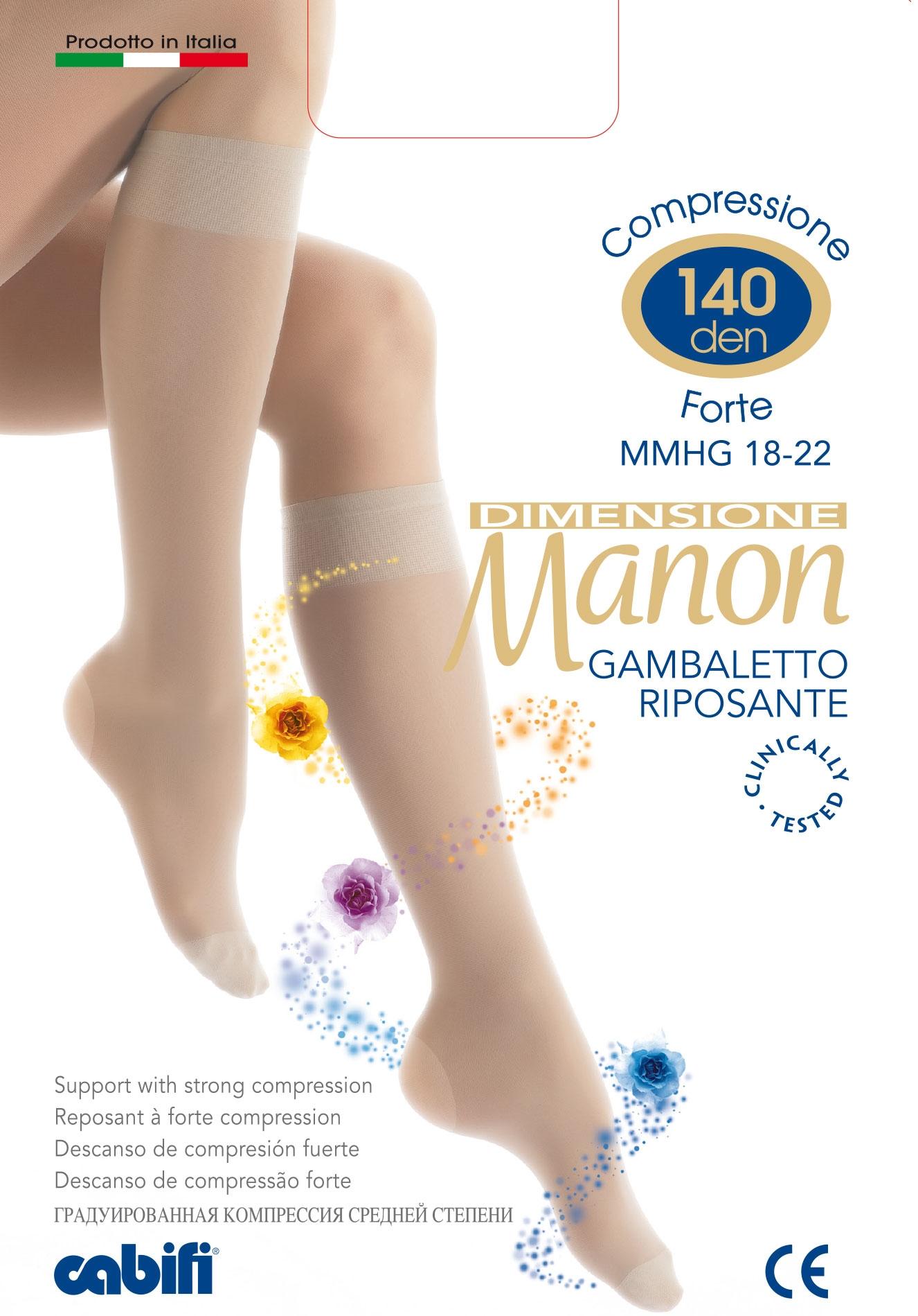 COLLANT RIPOSANTE SANITARIA CABIFI MANON 140 DENARI A COMPRESSIONE GRADUATA